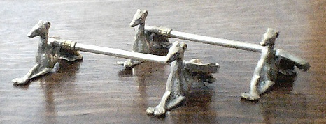 Greyhounds with Whip - Knife Rests