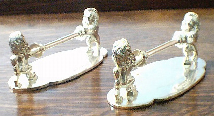 Rampant Lions with Lance - Knife Rests