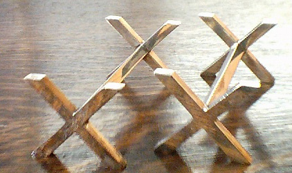 Plain Cross - Knife Rests