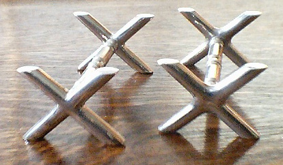 Heavy Crosses - Knife Rests