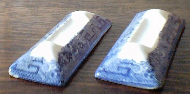 Blue and White - Knife Rests