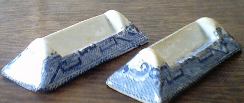 Blue & White - Knife Rests
